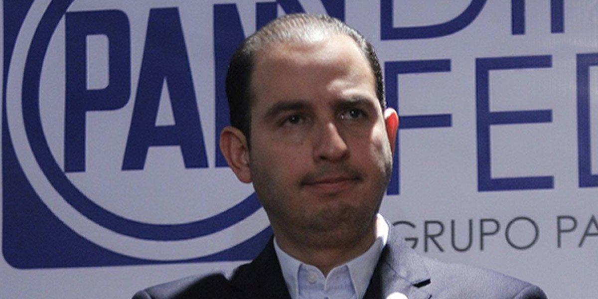 Diputadas del PAN tienen duda de apoyar a Marko Cortés