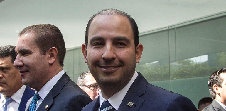 Marko Cortés pidió a empresarios de Durango unirse para que no llegue Morena