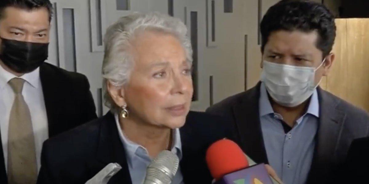 Discurso de AMLO sobre Cuba en el Zócalo es histórico: Olga Sánchez Cordero