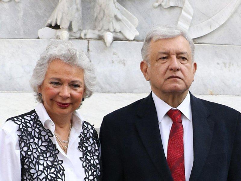 Olga Sánchez Cordero pide al Senado respetar la investidura presidencial de AMLO