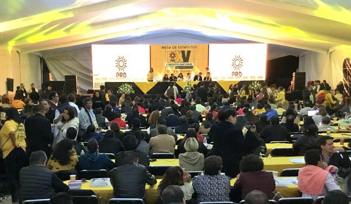 Relanza dirigencia al PRD con hoja de ruta para la transformación democrática