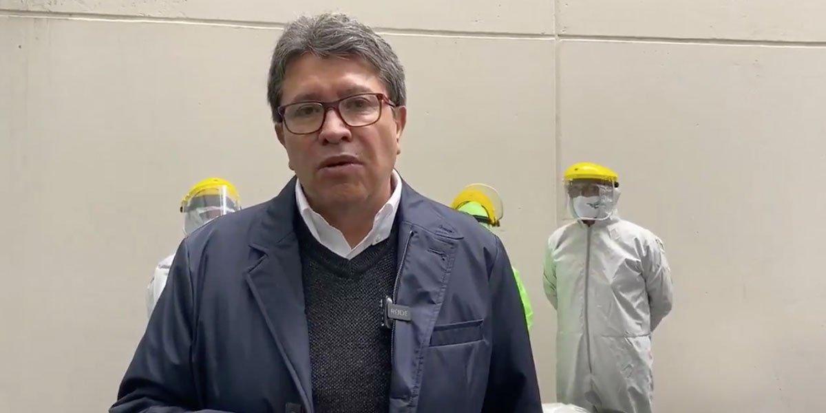 Monreal llama a Morena transparentar proceso de elección de candidato en 2024
