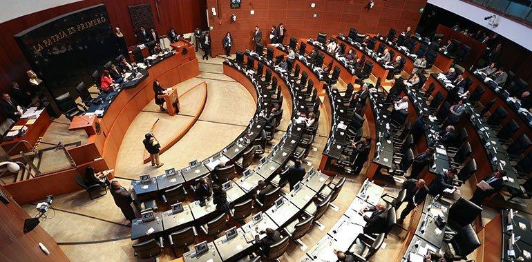 No todos los senadores de Acción Nacional se quedaron tan tranquilos con la salida de Gustavo Madero del grupo parlamentario