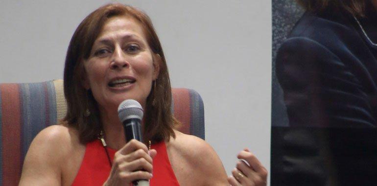Tatiana Clouthier confirma que no se revisó la reforma eléctrica en la reunión de ministros del G20